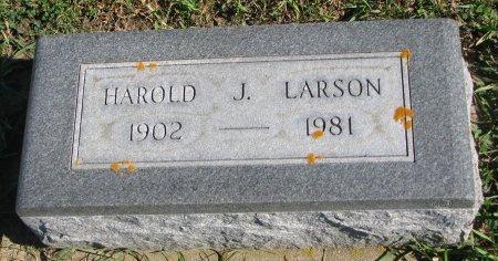 LARSON, HAROLD JOHN - Union County, South Dakota | HAROLD JOHN LARSON - South Dakota Gravestone Photos