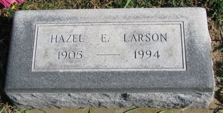 LARSON, HAZEL E. - Union County, South Dakota | HAZEL E. LARSON - South Dakota Gravestone Photos
