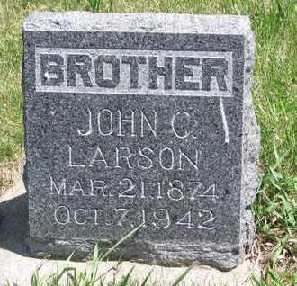 LARSON, JOHN C. - Union County, South Dakota   JOHN C. LARSON - South Dakota Gravestone Photos