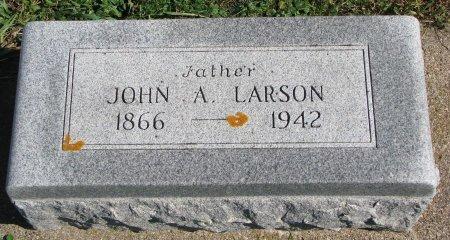 LARSON, JOHN A. - Union County, South Dakota | JOHN A. LARSON - South Dakota Gravestone Photos