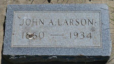 LARSON, JOHN AUGUST - Union County, South Dakota | JOHN AUGUST LARSON - South Dakota Gravestone Photos
