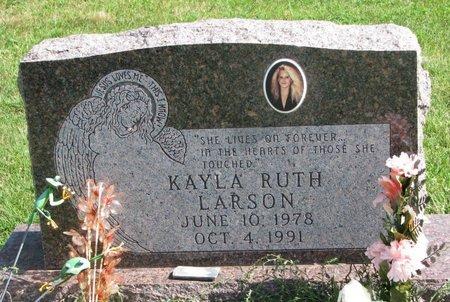 LARSON, KAYLA RUTH - Union County, South Dakota   KAYLA RUTH LARSON - South Dakota Gravestone Photos