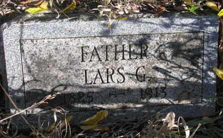 LARSON, LARS G. - Union County, South Dakota   LARS G. LARSON - South Dakota Gravestone Photos
