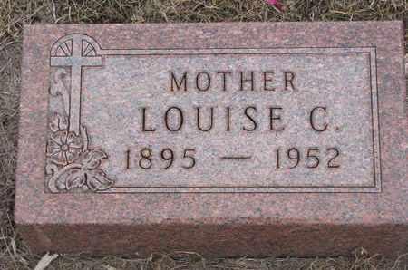 LARSON, LOUISE CHRISTINE - Union County, South Dakota | LOUISE CHRISTINE LARSON - South Dakota Gravestone Photos