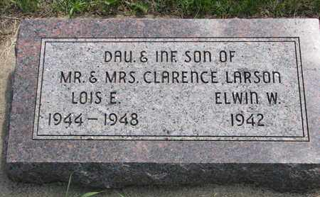 LARSON, LOIS ELDORA - Union County, South Dakota | LOIS ELDORA LARSON - South Dakota Gravestone Photos