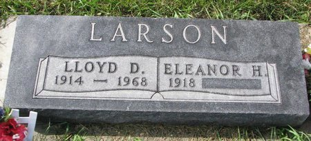LARSON, ELEANOR HELEN - Union County, South Dakota | ELEANOR HELEN LARSON - South Dakota Gravestone Photos