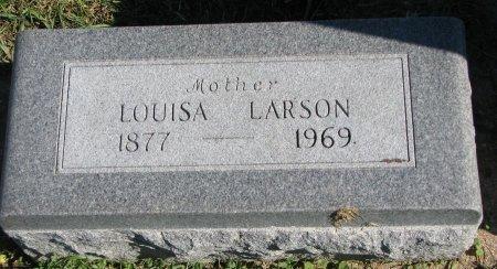 LARSON, LOUISA - Union County, South Dakota | LOUISA LARSON - South Dakota Gravestone Photos