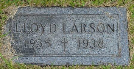LARSON, LLOYD JULES - Union County, South Dakota   LLOYD JULES LARSON - South Dakota Gravestone Photos