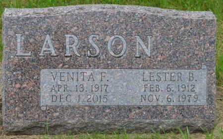 LARSON, VENITA F. - Union County, South Dakota   VENITA F. LARSON - South Dakota Gravestone Photos