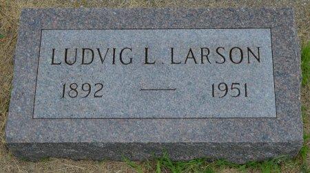 LARSON, LUDVIG LEONHARD - Union County, South Dakota   LUDVIG LEONHARD LARSON - South Dakota Gravestone Photos