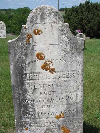 LARSON, MARTINUS MAGNUS - Union County, South Dakota | MARTINUS MAGNUS LARSON - South Dakota Gravestone Photos