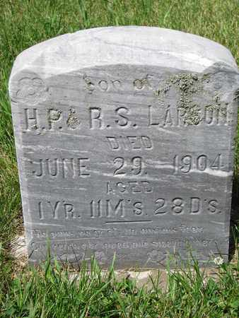 LARSON, MELVIN HERMAN - Union County, South Dakota | MELVIN HERMAN LARSON - South Dakota Gravestone Photos