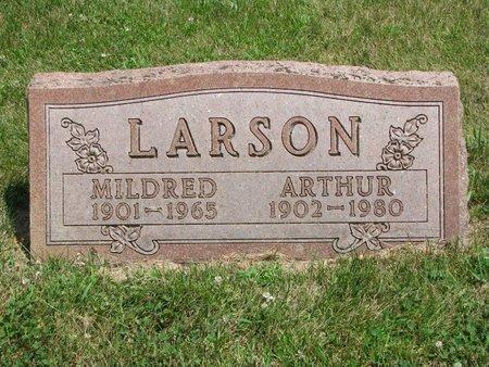 LARSON, ARTHUR - Union County, South Dakota | ARTHUR LARSON - South Dakota Gravestone Photos