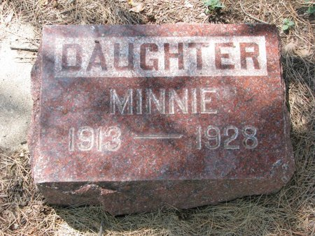 LARSON, MINNIE - Union County, South Dakota | MINNIE LARSON - South Dakota Gravestone Photos