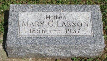 LARSON, MARY CHRISTINE - Union County, South Dakota | MARY CHRISTINE LARSON - South Dakota Gravestone Photos