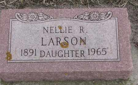LARSON, NELLIE R. - Union County, South Dakota | NELLIE R. LARSON - South Dakota Gravestone Photos