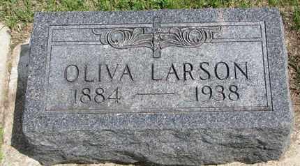 LARSON, OLIVA - Union County, South Dakota | OLIVA LARSON - South Dakota Gravestone Photos