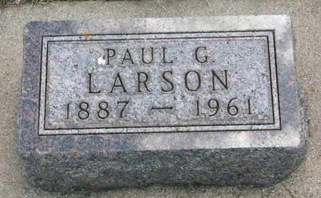 LARSON, PAUL G. - Union County, South Dakota | PAUL G. LARSON - South Dakota Gravestone Photos