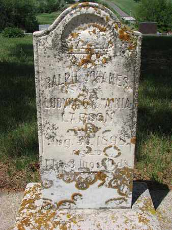 "LARSON, RALPH ""ROLF"" JOHNES - Union County, South Dakota | RALPH ""ROLF"" JOHNES LARSON - South Dakota Gravestone Photos"