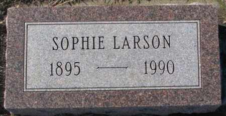 LARSON, SOPHIE - Union County, South Dakota   SOPHIE LARSON - South Dakota Gravestone Photos