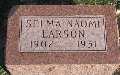 LARSON, SELMA NAOMI - Union County, South Dakota | SELMA NAOMI LARSON - South Dakota Gravestone Photos