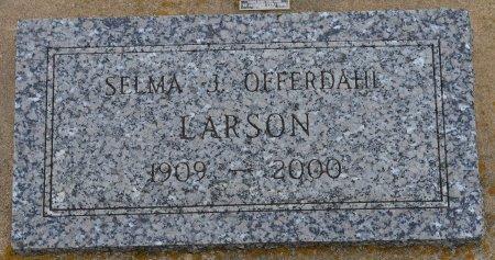 LARSON, SELMA JOSEPHINE - Union County, South Dakota   SELMA JOSEPHINE LARSON - South Dakota Gravestone Photos