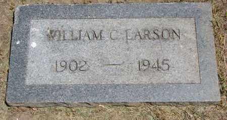 LARSON, WILLIAM C. - Union County, South Dakota   WILLIAM C. LARSON - South Dakota Gravestone Photos
