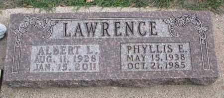 LAWRENCE, PHYLLIS E. - Union County, South Dakota | PHYLLIS E. LAWRENCE - South Dakota Gravestone Photos