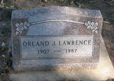 LAWRENCE, ORLAND J. - Union County, South Dakota | ORLAND J. LAWRENCE - South Dakota Gravestone Photos