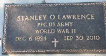 LAWRENCE, STANLEY O. - Union County, South Dakota | STANLEY O. LAWRENCE - South Dakota Gravestone Photos