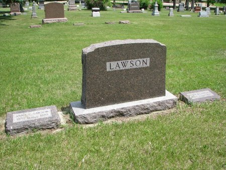 LAWSON, *FAMILY PLOT-ANNA & PETER - Union County, South Dakota | *FAMILY PLOT-ANNA & PETER LAWSON - South Dakota Gravestone Photos