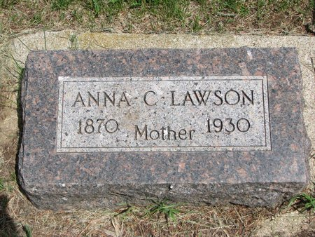 LAWSON, ANNA CHRISTINA - Union County, South Dakota | ANNA CHRISTINA LAWSON - South Dakota Gravestone Photos