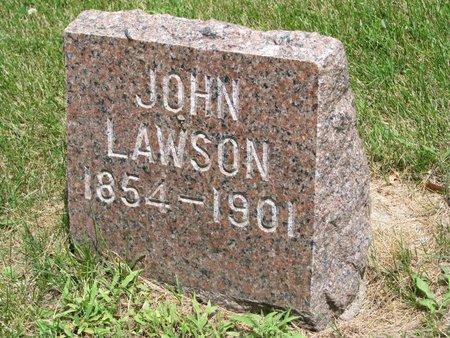 LAWSON, JOHN - Union County, South Dakota   JOHN LAWSON - South Dakota Gravestone Photos