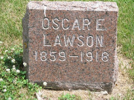 LAWSON, OSCAR EMIL - Union County, South Dakota | OSCAR EMIL LAWSON - South Dakota Gravestone Photos