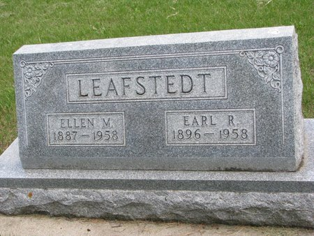 LEAFSTEDT, ELLEN M. - Union County, South Dakota | ELLEN M. LEAFSTEDT - South Dakota Gravestone Photos