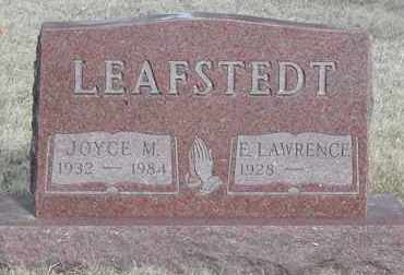 LEAFSTEDT, E. LAWRENCE - Union County, South Dakota | E. LAWRENCE LEAFSTEDT - South Dakota Gravestone Photos
