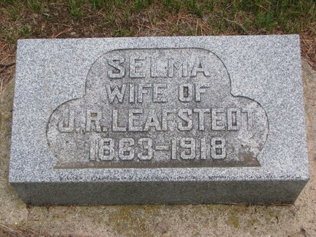 LEAFSTEDT, SELMA - Union County, South Dakota | SELMA LEAFSTEDT - South Dakota Gravestone Photos