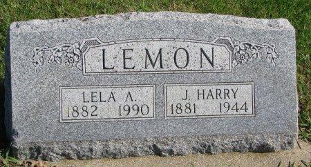 LEMON, JOHN HARRY - Union County, South Dakota | JOHN HARRY LEMON - South Dakota Gravestone Photos