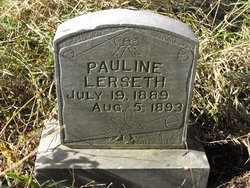 LERSETH, PAULINE - Union County, South Dakota | PAULINE LERSETH - South Dakota Gravestone Photos
