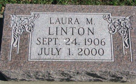 LINTON, LAURA M. - Union County, South Dakota | LAURA M. LINTON - South Dakota Gravestone Photos
