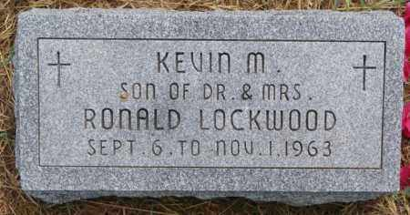 LOCKWOOD, KEVIN M - Union County, South Dakota | KEVIN M LOCKWOOD - South Dakota Gravestone Photos