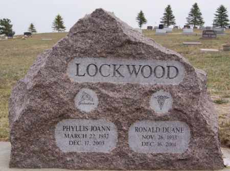 LOCKWOOD, RONALD DUANE - Union County, South Dakota | RONALD DUANE LOCKWOOD - South Dakota Gravestone Photos