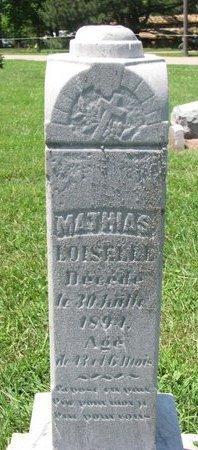 LOISELLE, MATHIAS - Union County, South Dakota | MATHIAS LOISELLE - South Dakota Gravestone Photos
