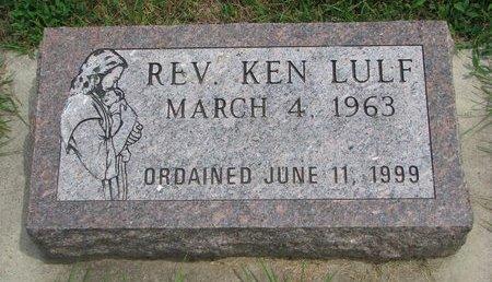 LULF, KEN (REV.) - Union County, South Dakota   KEN (REV.) LULF - South Dakota Gravestone Photos