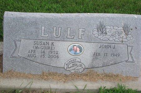 LULF, JOHN J. - Union County, South Dakota | JOHN J. LULF - South Dakota Gravestone Photos