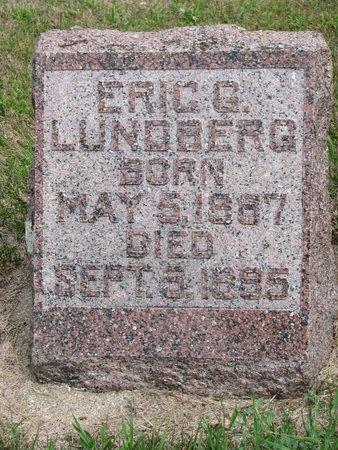 LUNDBERG, ERIC G. - Union County, South Dakota   ERIC G. LUNDBERG - South Dakota Gravestone Photos