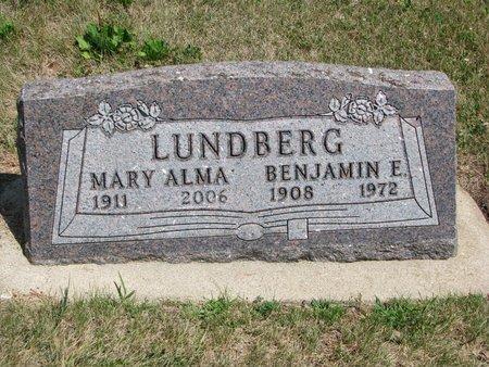 LUNDBERG, BENJAMIN ERNEST - Union County, South Dakota | BENJAMIN ERNEST LUNDBERG - South Dakota Gravestone Photos