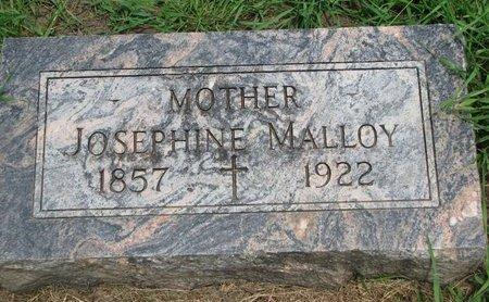 MALLOY, JOSEPHINE - Union County, South Dakota | JOSEPHINE MALLOY - South Dakota Gravestone Photos