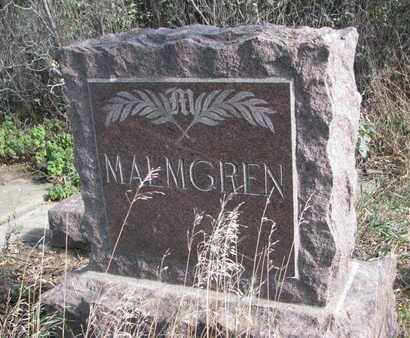 MALMGREN, FAMILY STONE - Union County, South Dakota | FAMILY STONE MALMGREN - South Dakota Gravestone Photos