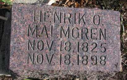 MALMGREN, HENRIK O. - Union County, South Dakota   HENRIK O. MALMGREN - South Dakota Gravestone Photos